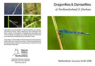 New Local Atlas to the Dragonflies of Northumberland and Durham