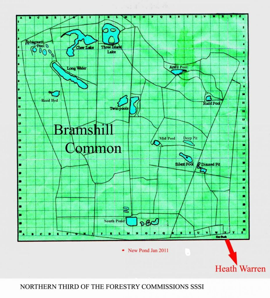 Bramshill map